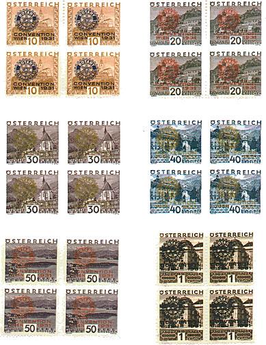Autriche émission du 20 juin 1931